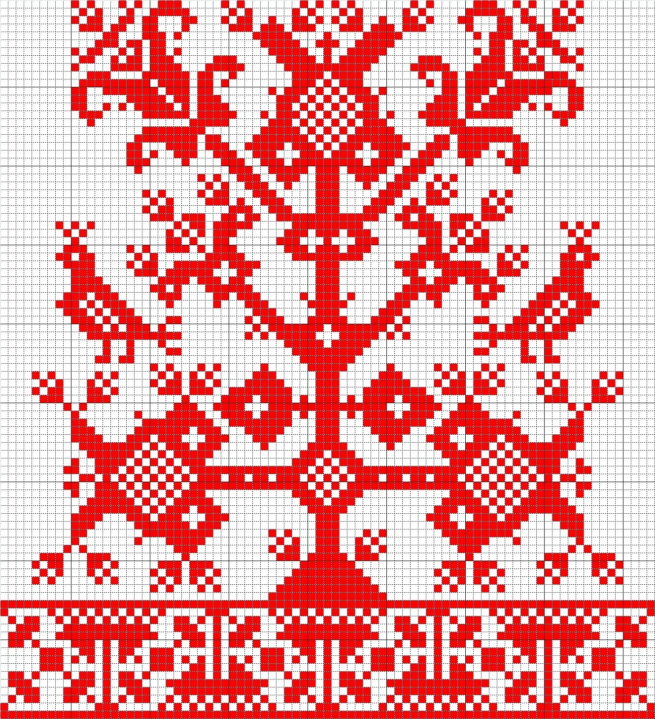 Вышивка дерево жизни схема 2