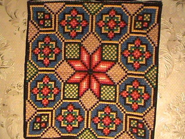 болгарским крестом.
